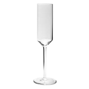 Diana Crystal Champagne Flute