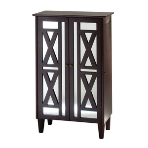 Jewelry Armoire Cherry