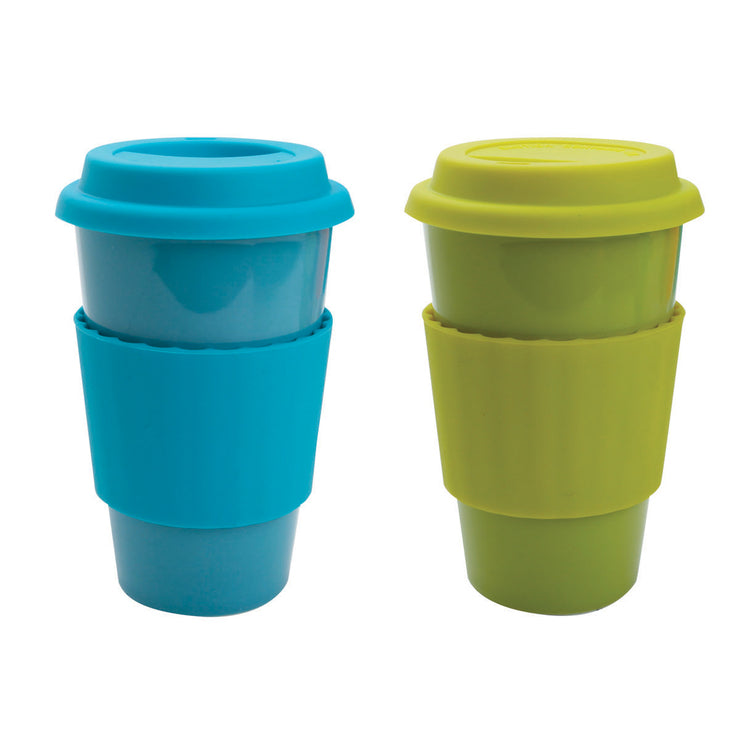 Eco-Cup Blue & Green Set