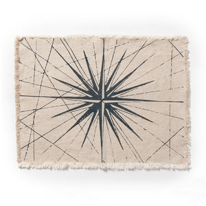 Compass Rose Placemat Natural