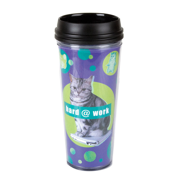 Hard Work Travel Mug