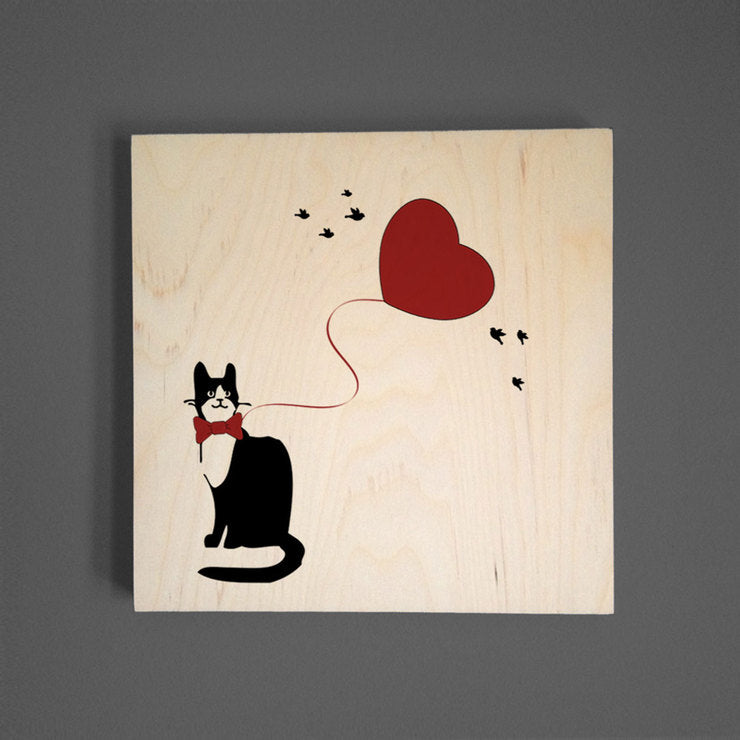 Fancy Cat Wall Art