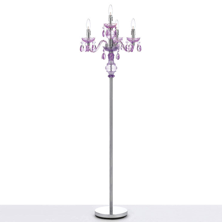 Fulton Floor Lamp Grape