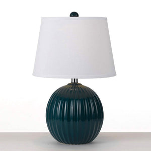 Bleeker Park Table Lamp Sea Blue
