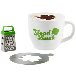 Cappuccino Mug Good Luck
