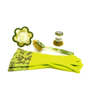 Cleaning Set 4Pc Green