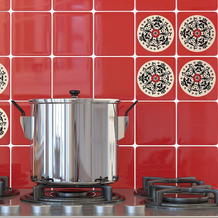 Flamenco Tile Decal Set Of 8