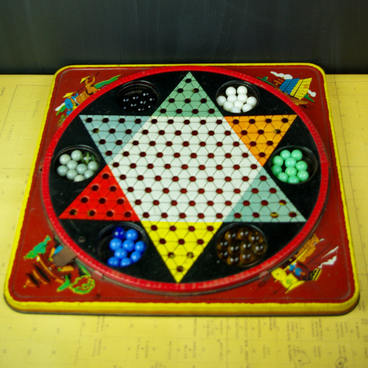 1940s Chinese Checkers Game