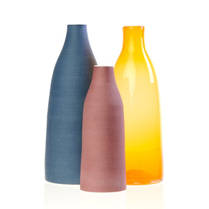 Decorative Bottles Warm Set Of 3