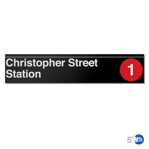 Christopher Street Station 5'