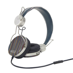 Banjar Stripe Headphones Blk/Gry