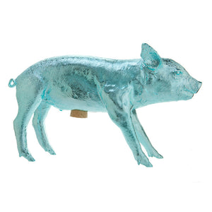 Bank In Form Of A Pig Blue