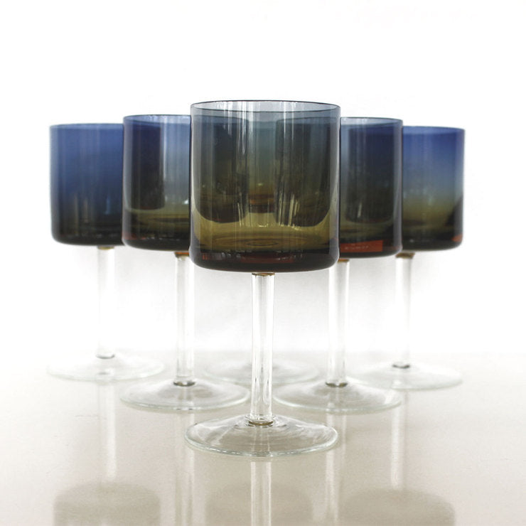 Ombre Cocktail Glass Set