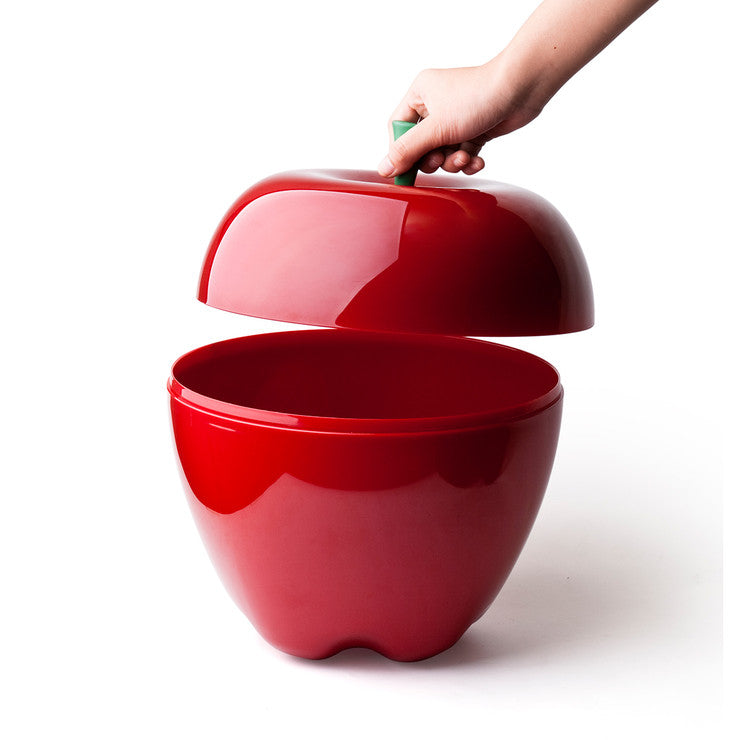 Apple Container Small Red
