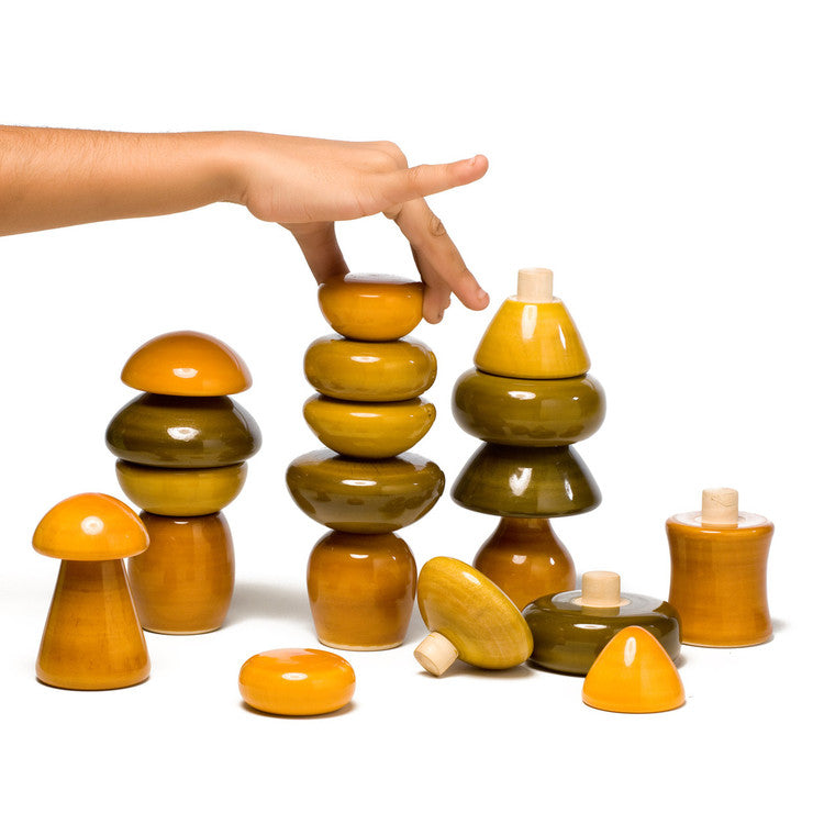 Gwomies Wood Stacking Toy