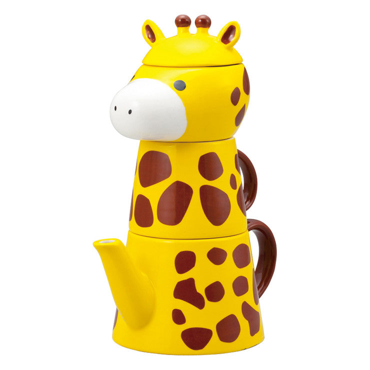 Giraffe Tea For One Set