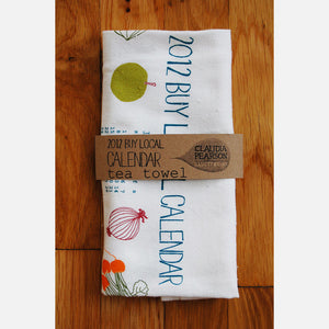 2012 Buy Local Tea Towel