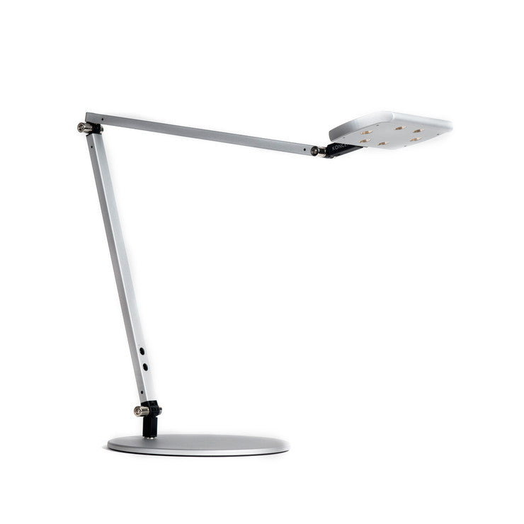 IceLight Warm Desk Lamp Silver