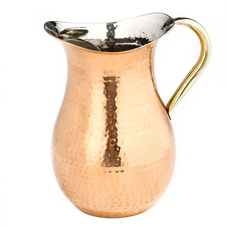 Hammered Copper Pitcher 2.25qt
