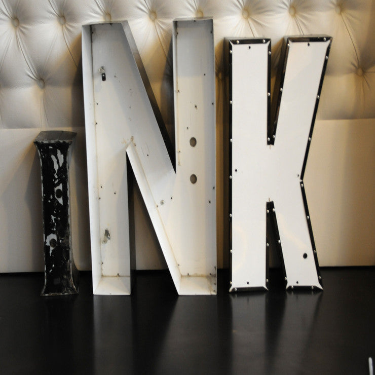 Channel Letters \INK""""