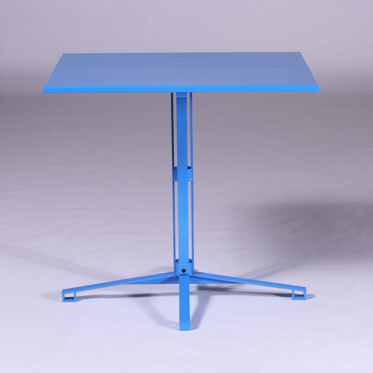 Cafe Table Light Blue