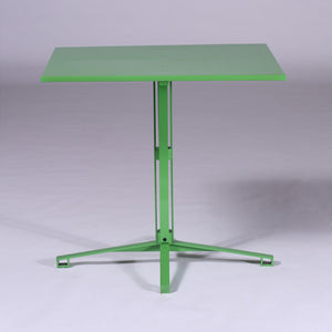 Cafe Table Yellow Green
