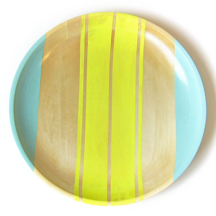 Neon Serving Tray 14\ Yellow""