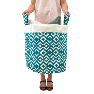 Canvas Bucket XL Teal