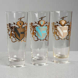 '50s Coat Of Arms Glasses