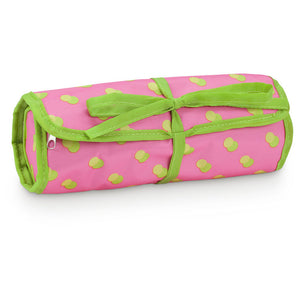 Jewelry Roll Citrus Dot