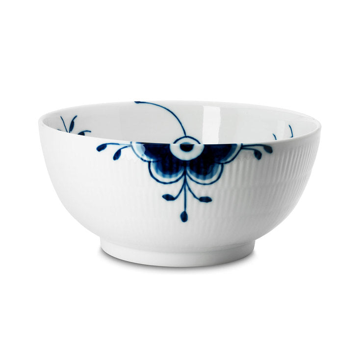 Blue Fluted Mega Salad Bowl
