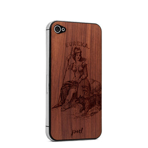 Eureka iPhone 4/4S Skin Cedar