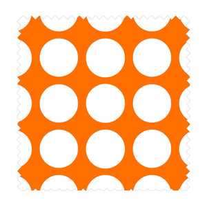 Dot Med 3 Yards Orange
