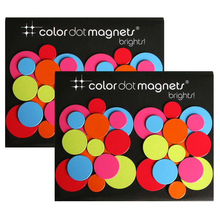 Color Dots Brights 60 Pack