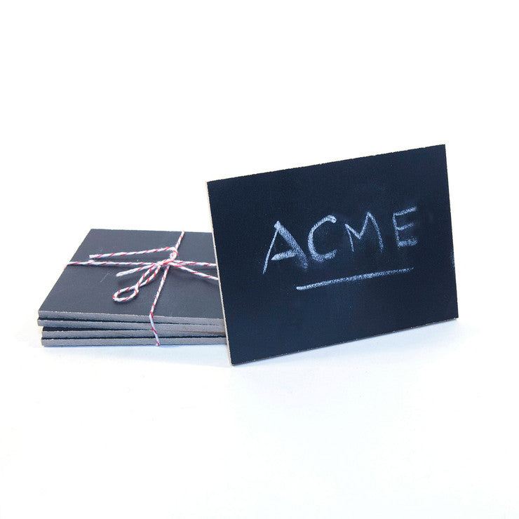 Chalkboard Place Cards Set Of 4
