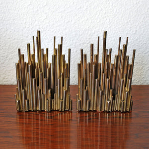 Curtis Jere Brass Bookends
