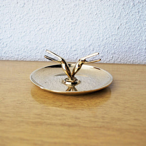 Brass Toucan Tray