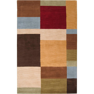 Color Block 5 x 8 Rug
