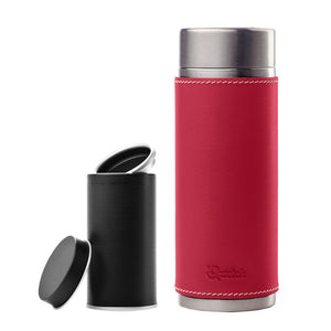 Insulated Tumbler & Tea Box Red