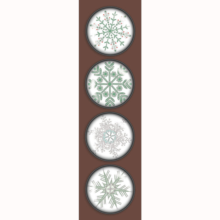 Snowflakes Holiday 4-Pack