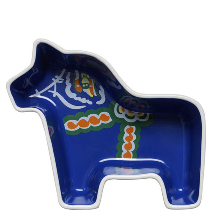 Dala Horse Serving Bowl Small