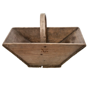 French Wood Garden Trug