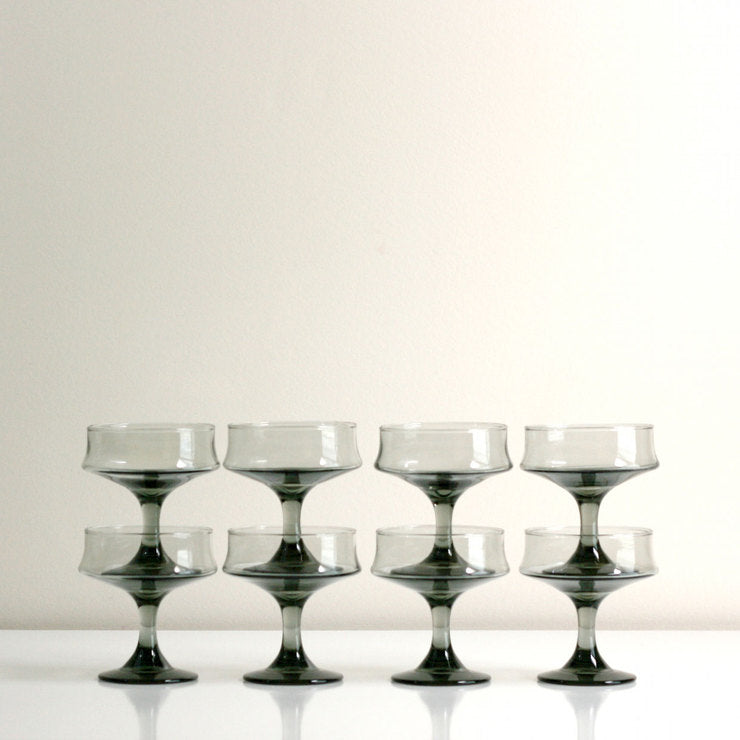Champagne Coupes Set Of 8