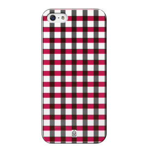 Boy Check iPhone 5 Case Red