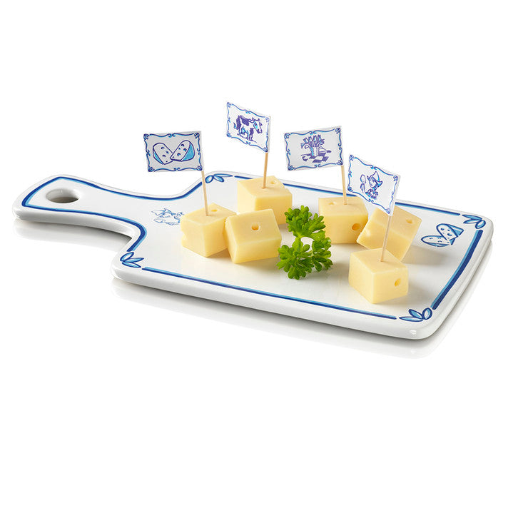 Dutch Cheese Board Delft Blue