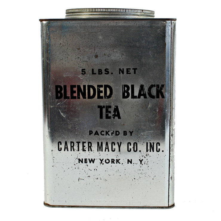 Bold Graphic Tea Canister