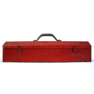 Industrial Tool Box Red