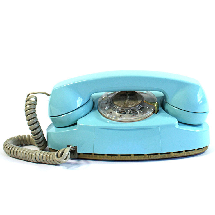Blue Princess Phone