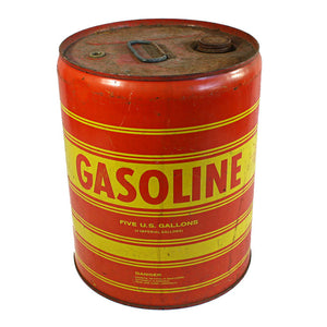 Bold Graphic Gasoline Can
