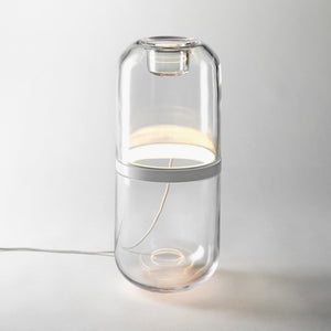 Demi Lamp Large Clear